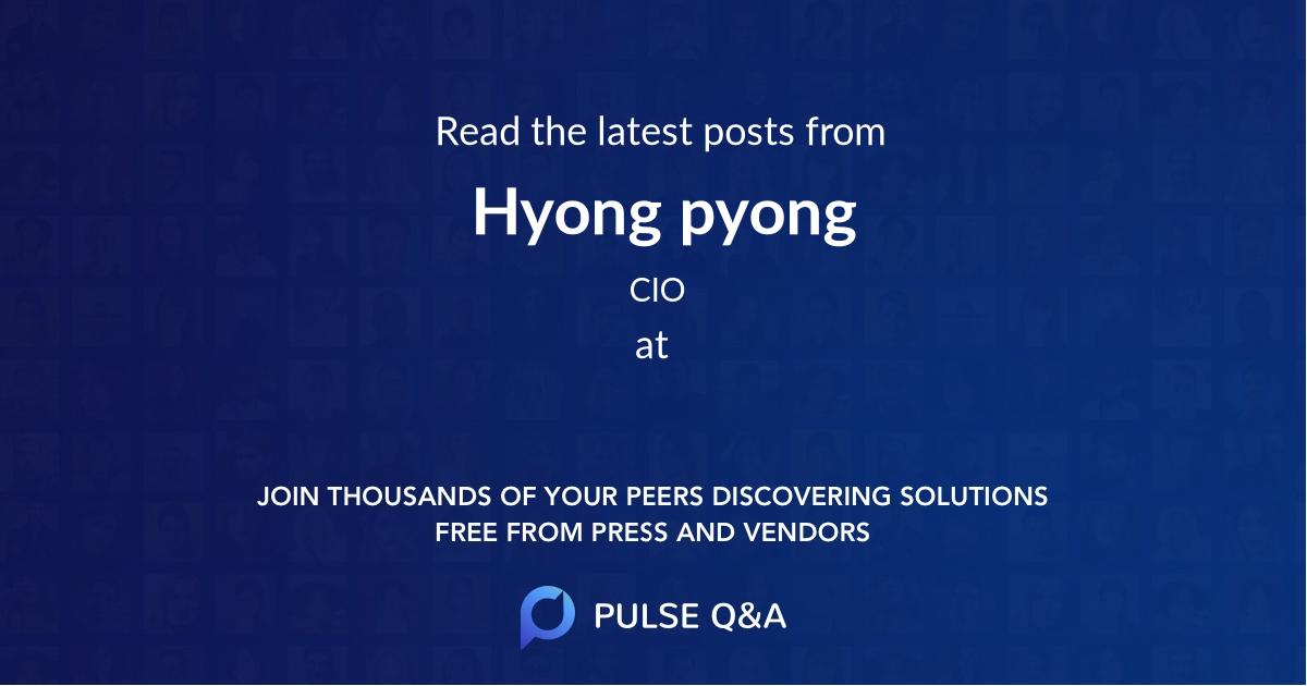 Hyong pyong