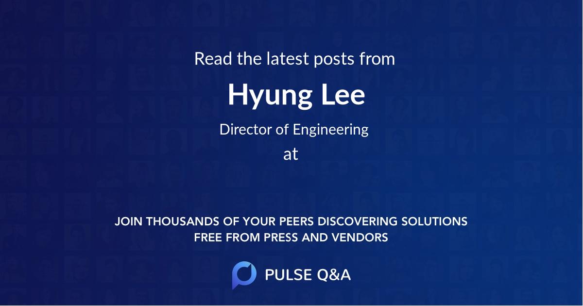 Hyung Lee