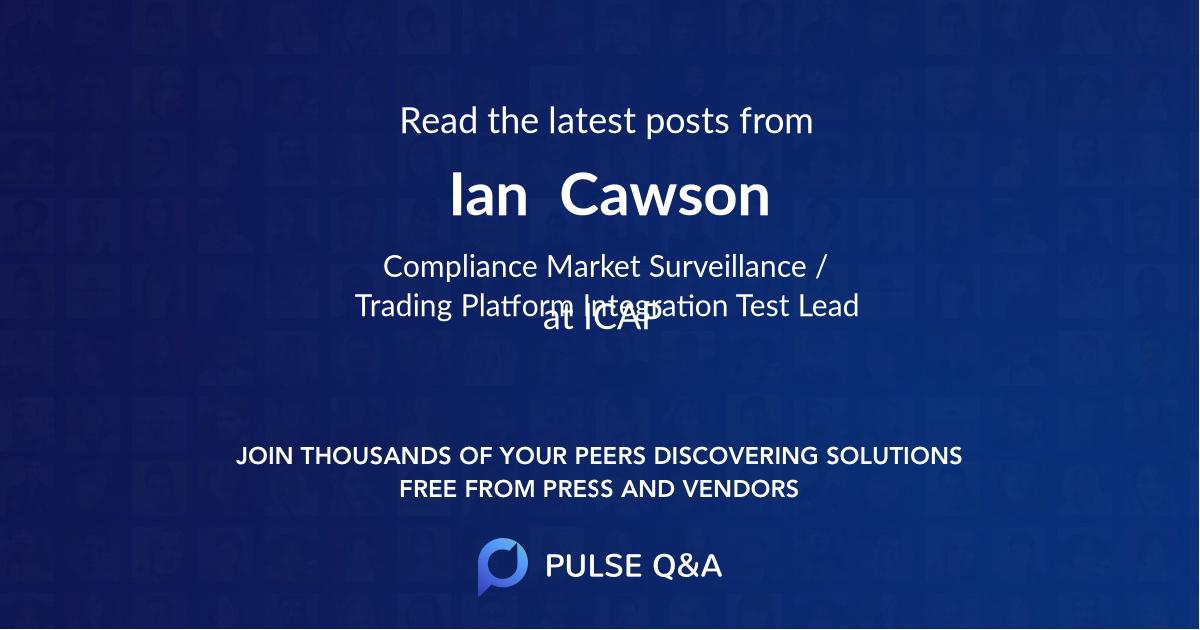 Ian  Cawson