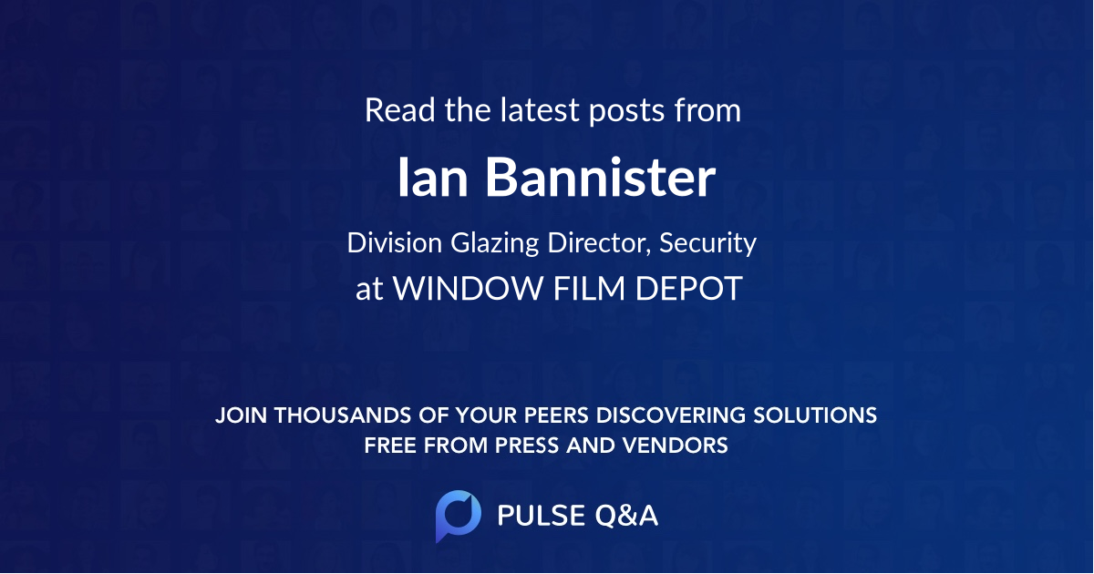 Ian Bannister