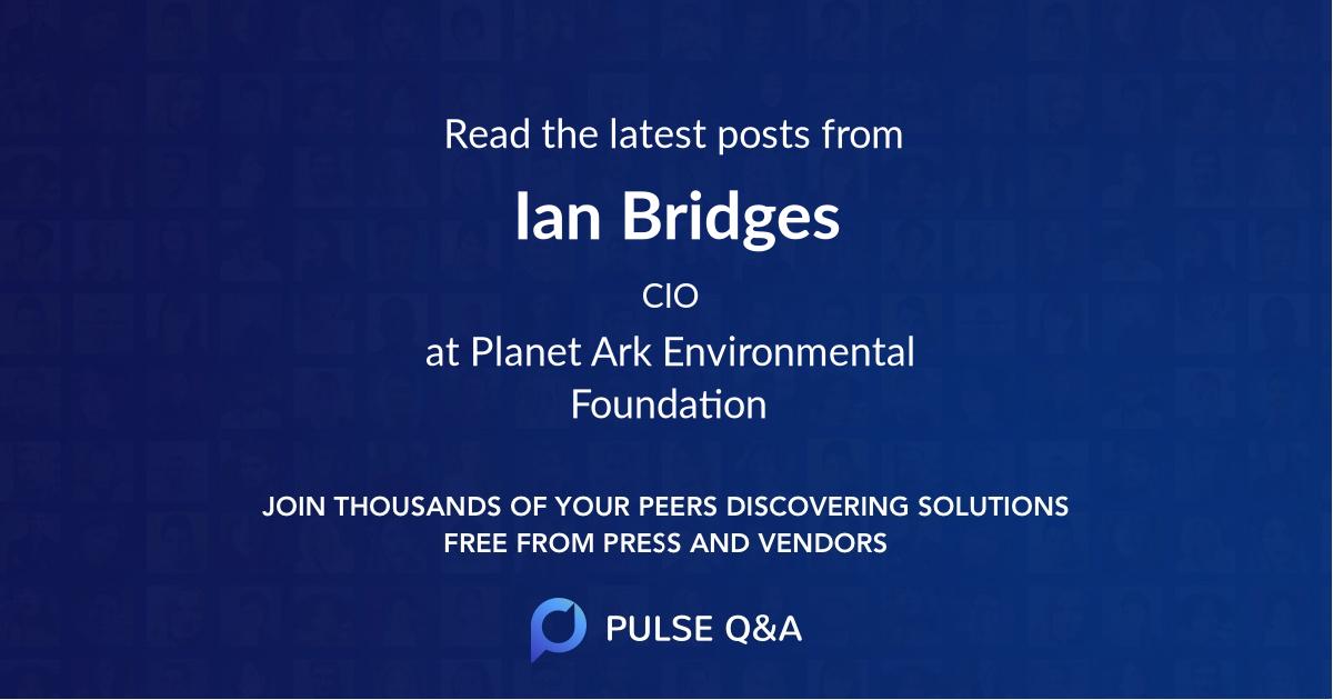 Ian Bridges