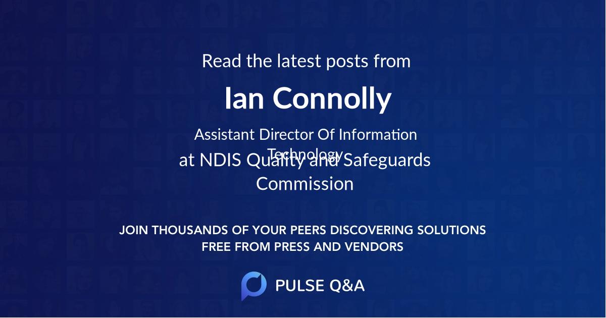 Ian Connolly