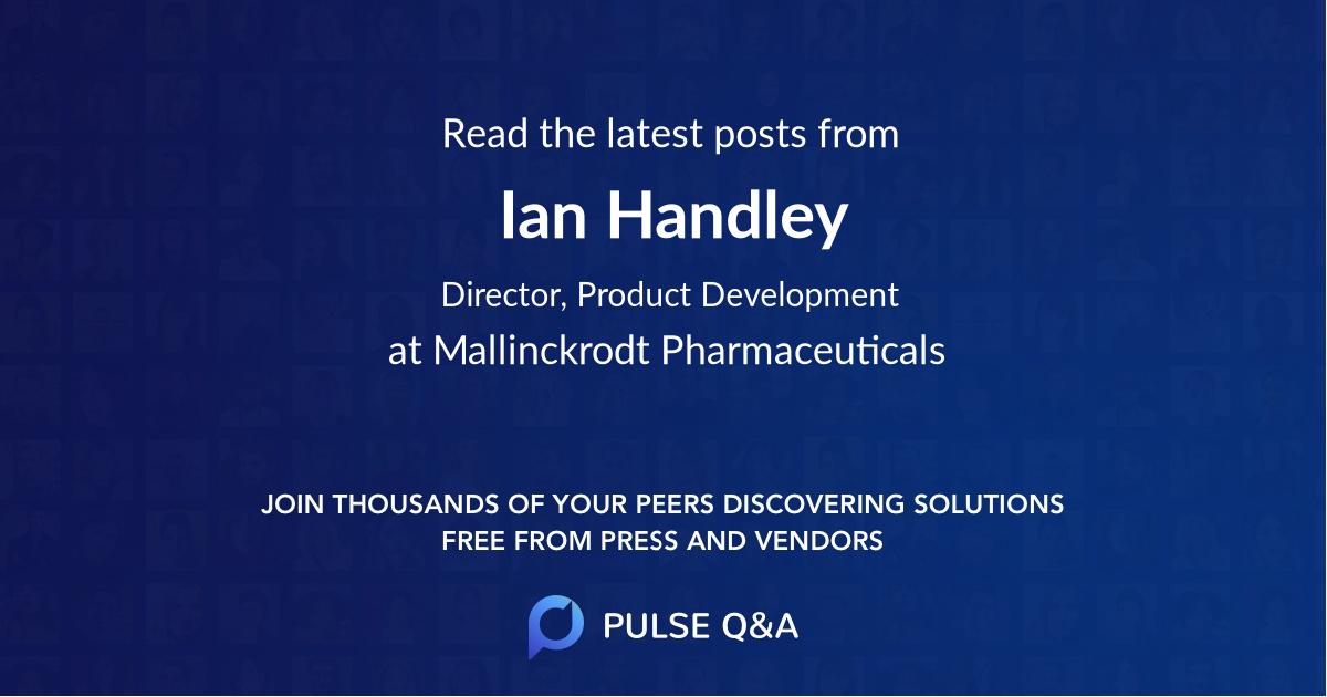Ian Handley