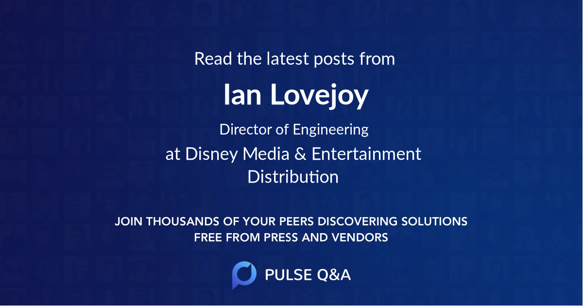 Ian Lovejoy