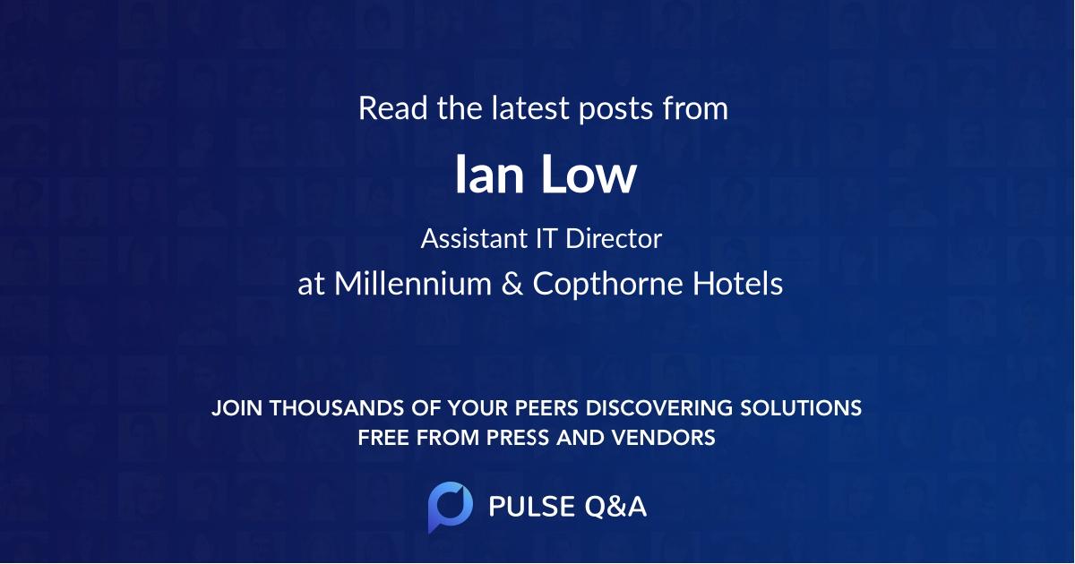Ian Low