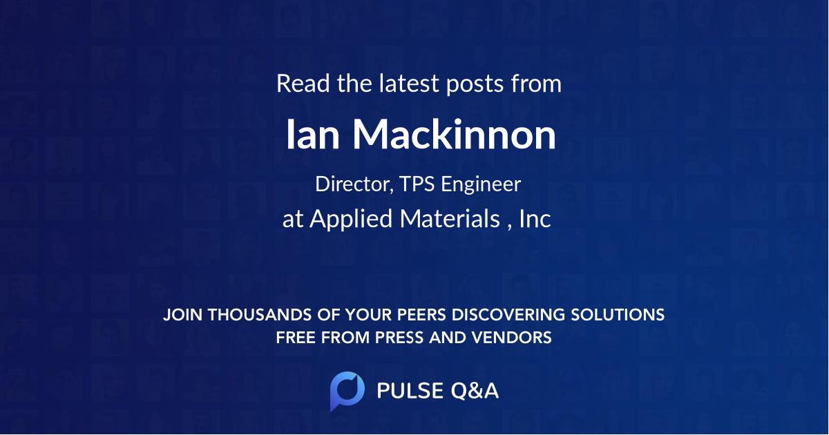 Ian Mackinnon