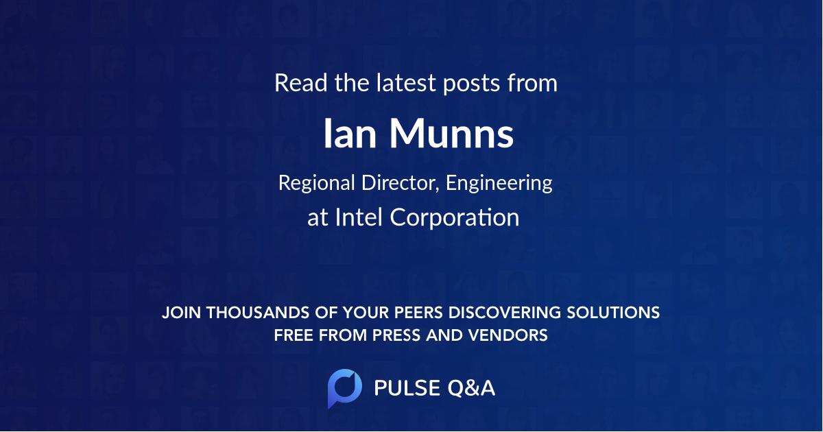 Ian Munns