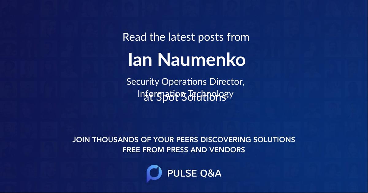 Ian Naumenko