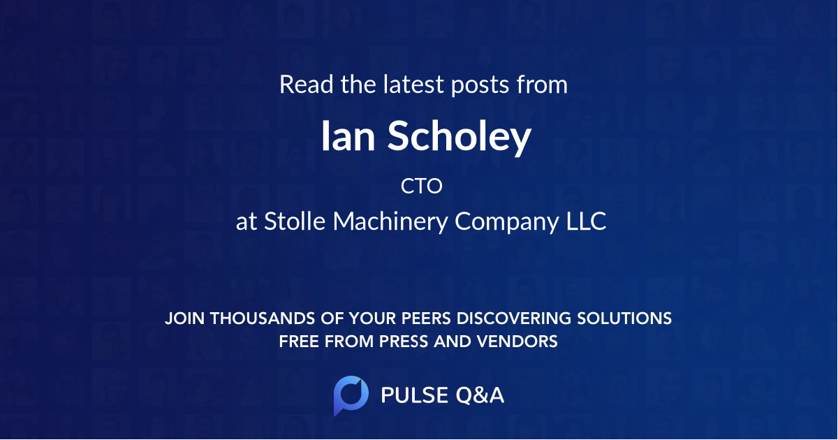 Ian Scholey