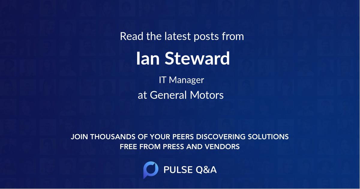 Ian Steward