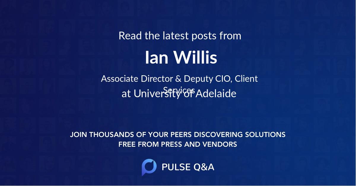 Ian Willis