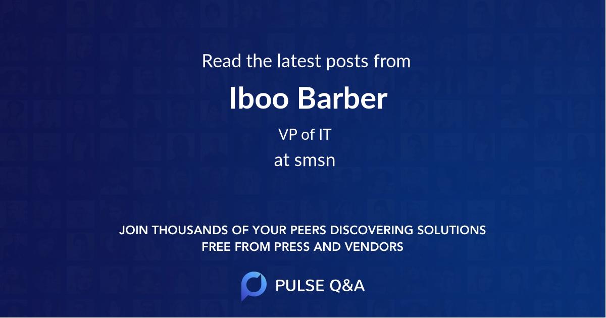 Iboo Barber