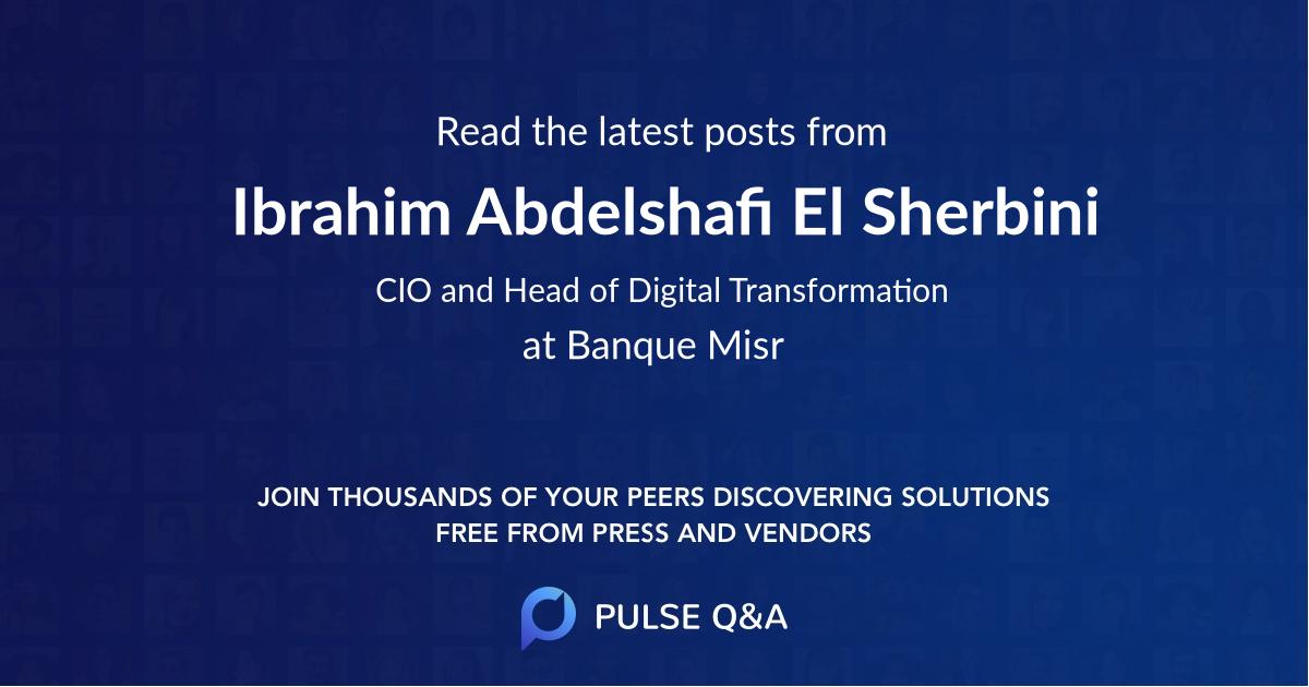 Ibrahim Abdelshafi El Sherbini