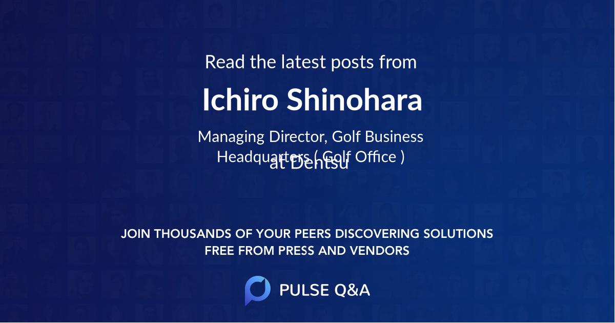 Ichiro Shinohara