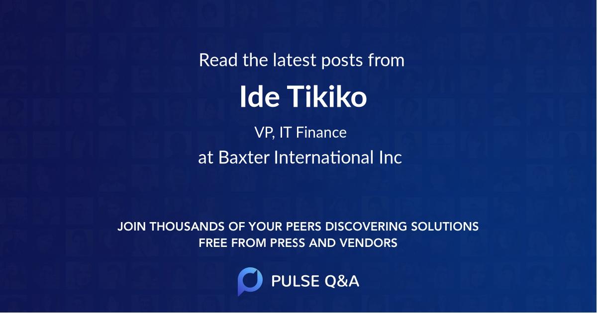 Ide Tikiko