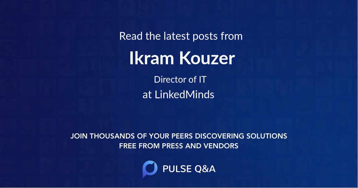 Ikram Kouzer