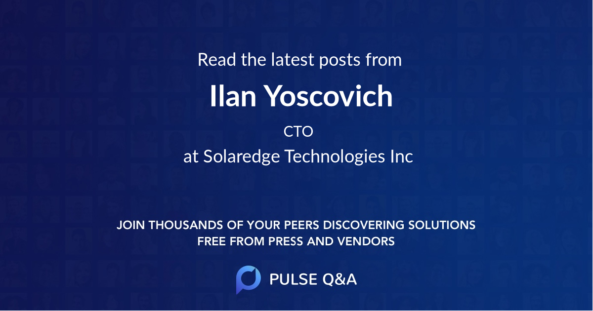 Ilan Yoscovich