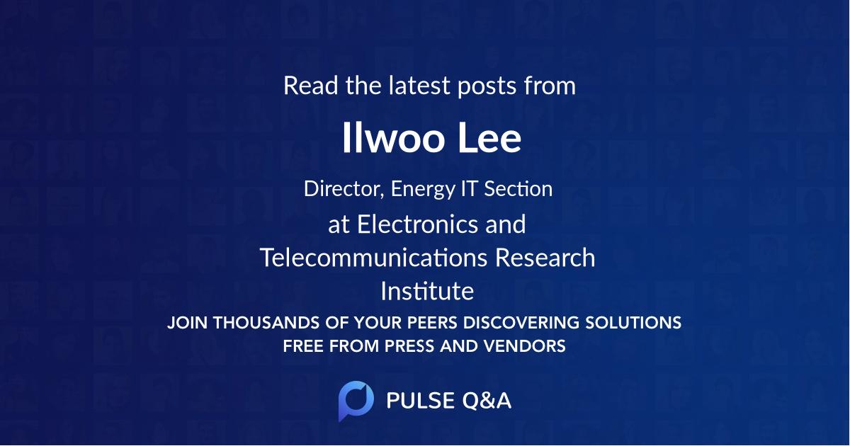 Ilwoo Lee