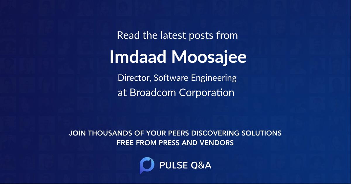 Imdaad Moosajee
