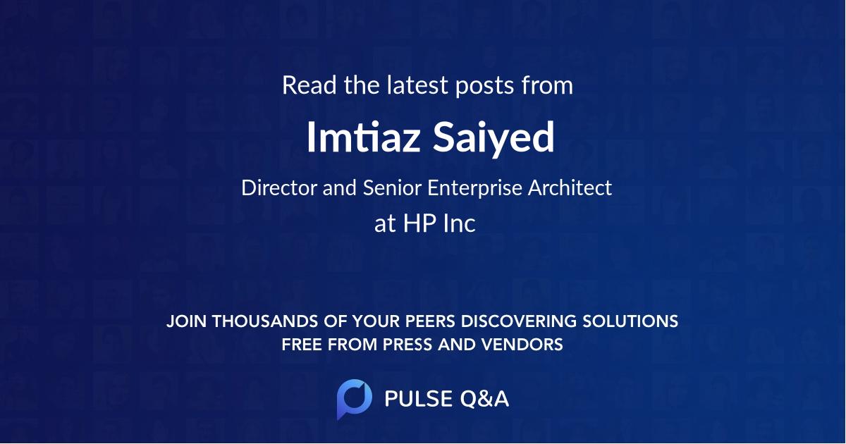 Imtiaz Saiyed
