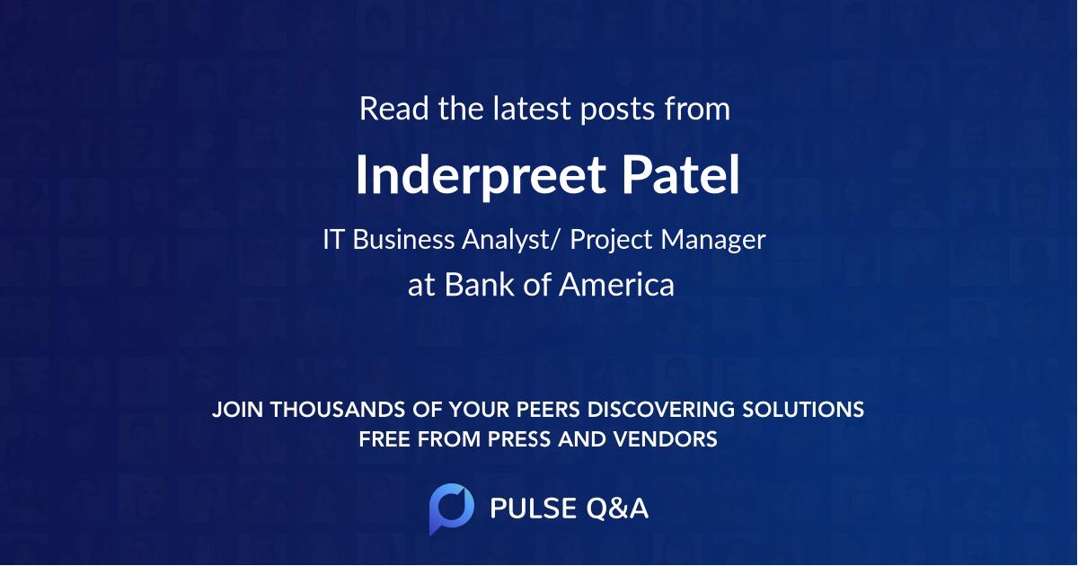 Inderpreet Patel