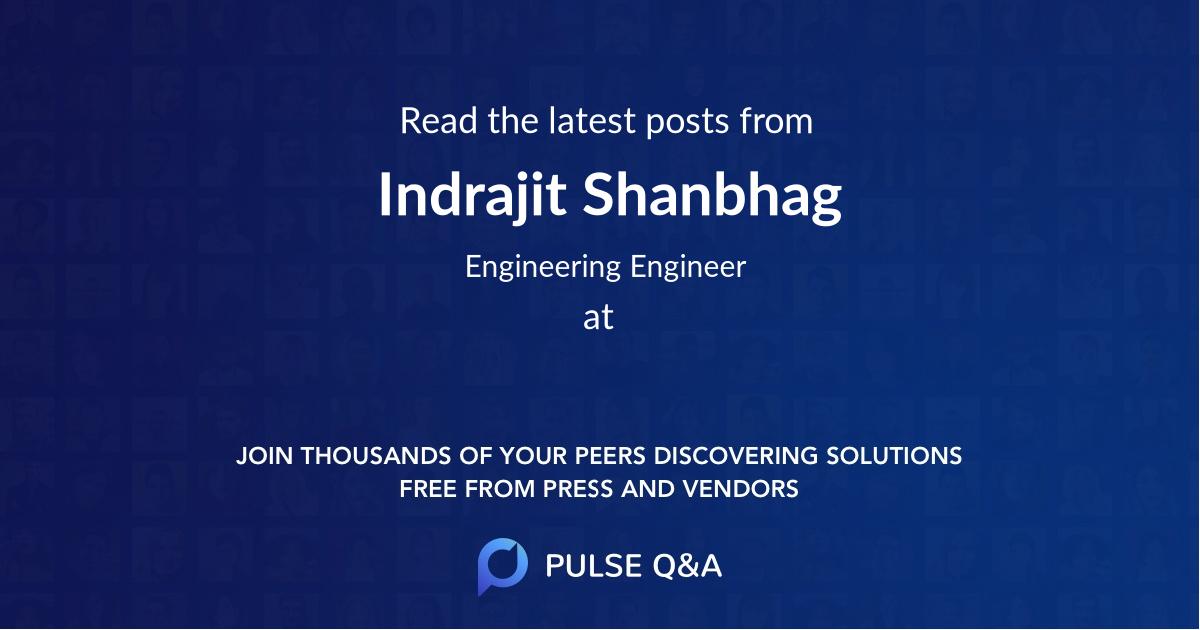 Indrajit Shanbhag
