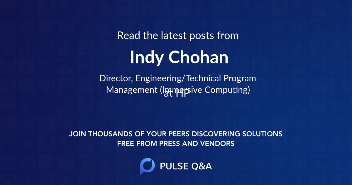 Indy Chohan