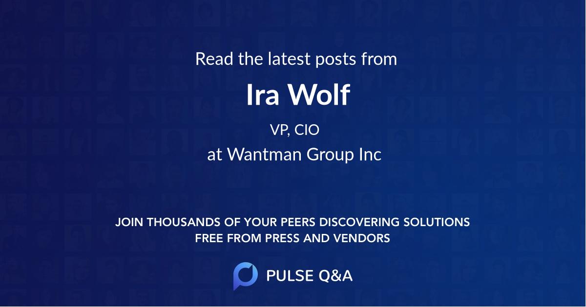 Ira Wolf