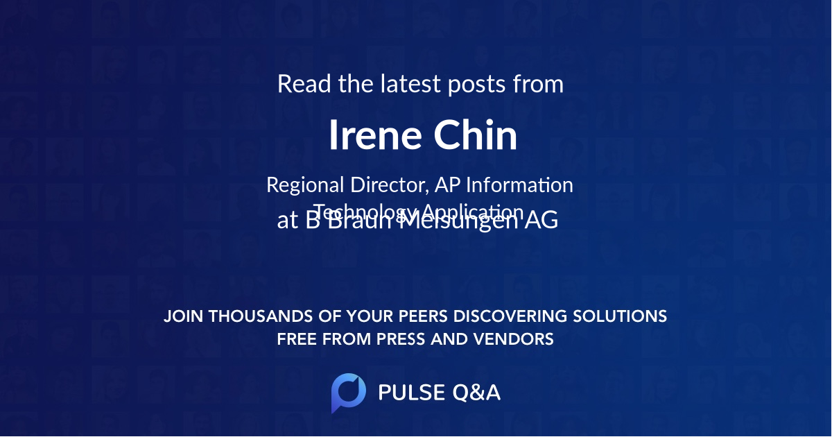 Irene Chin