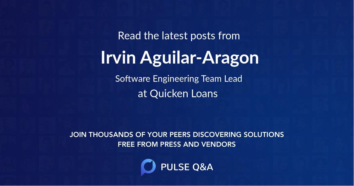 Irvin Aguilar-Aragon