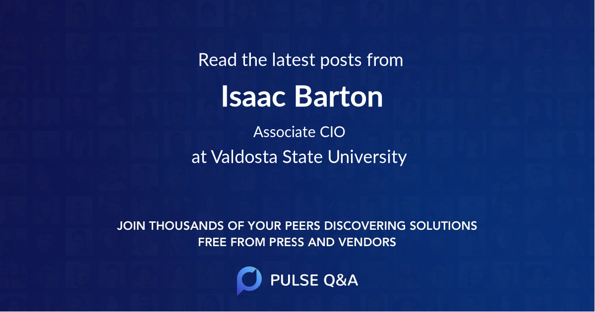 Isaac Barton