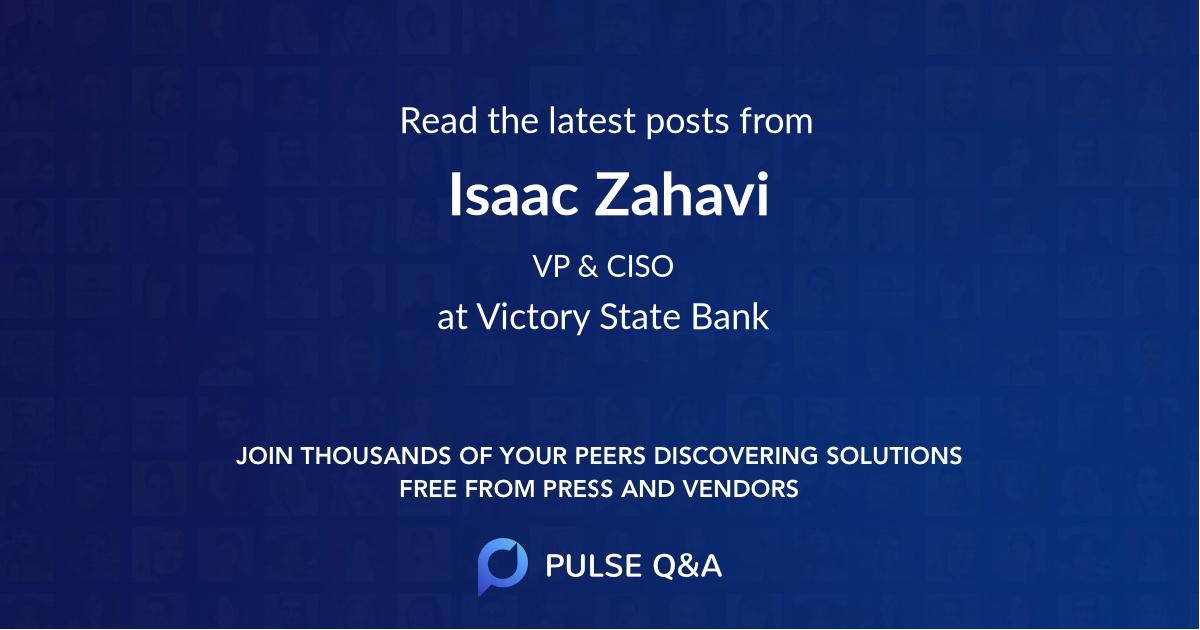Isaac Zahavi
