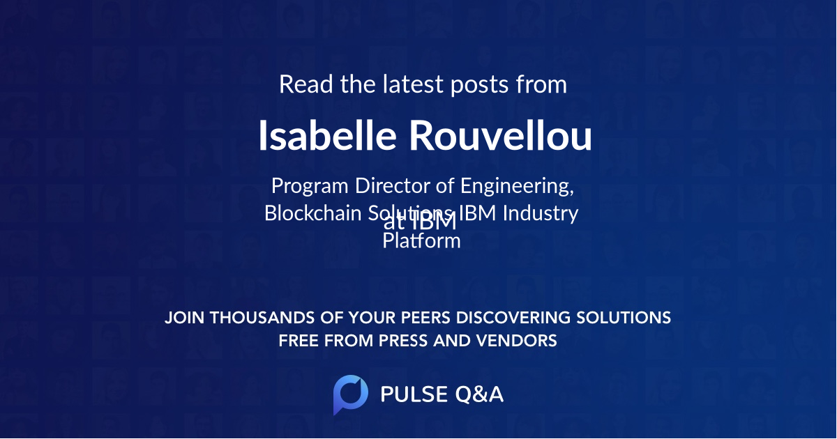 Isabelle Rouvellou
