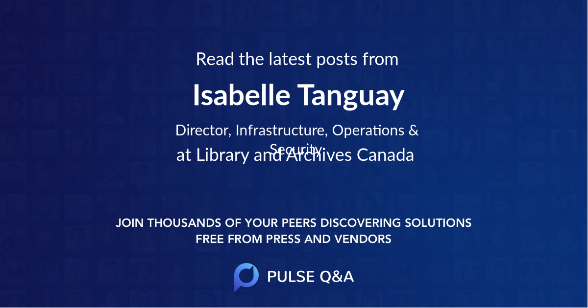 Isabelle Tanguay