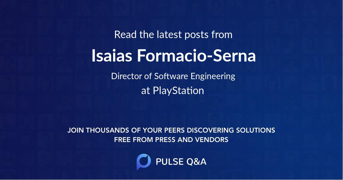 Isaias Formacio-Serna