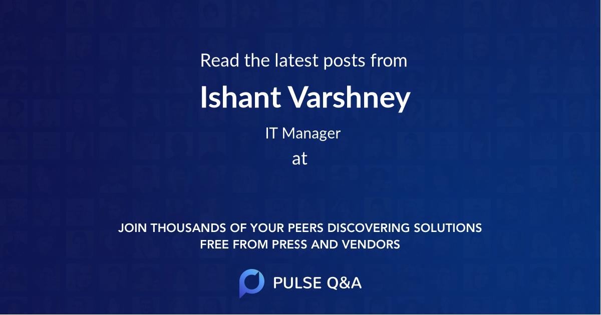 Ishant Varshney