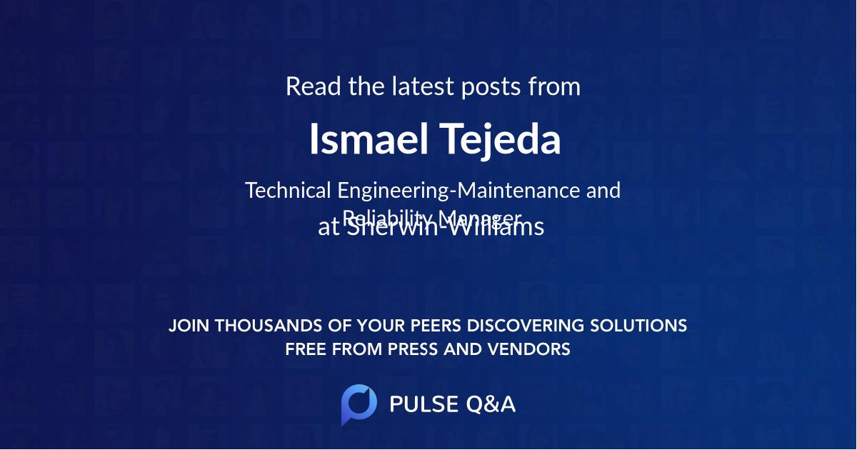 Ismael Tejeda