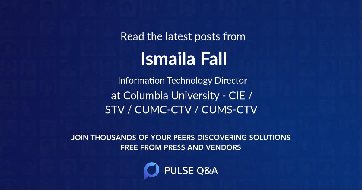 Ismaila Fall