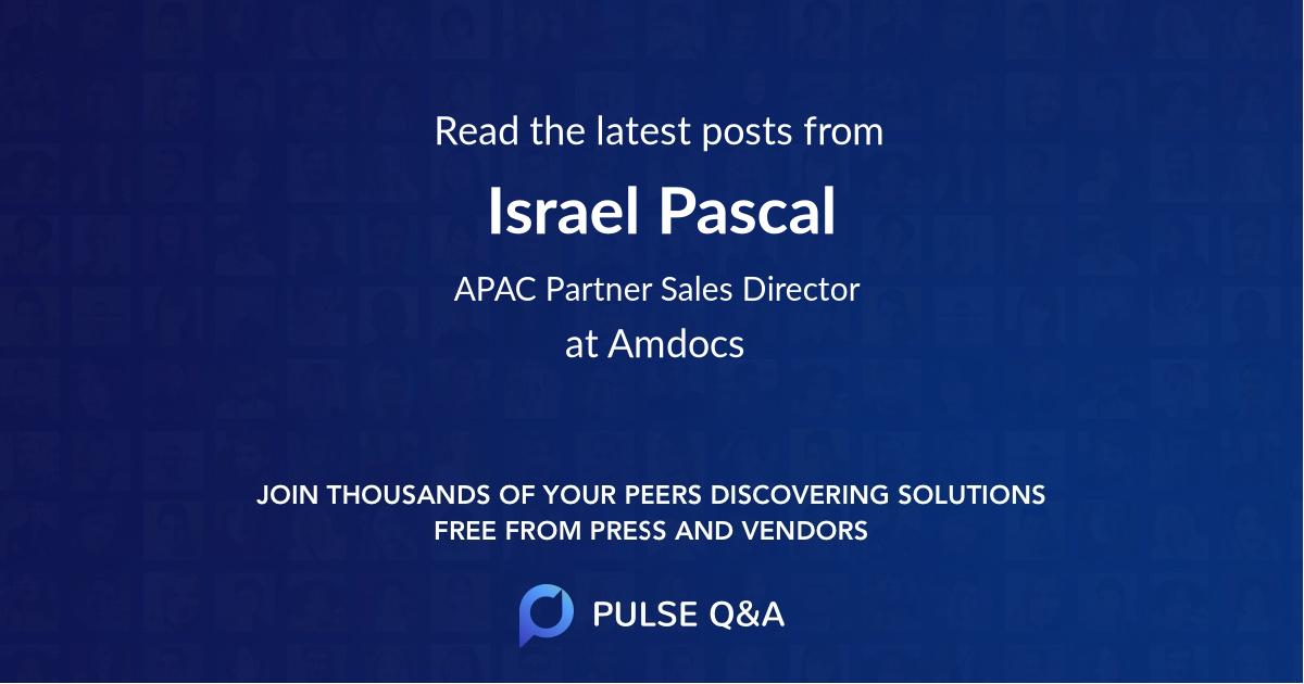 Israel Pascal