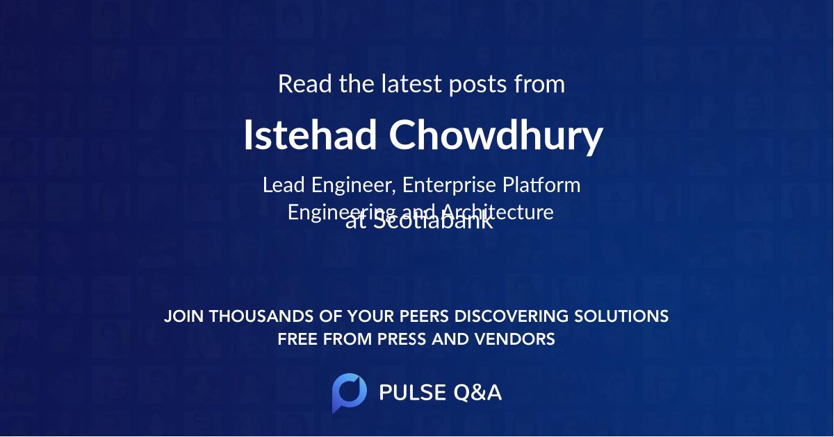 Istehad Chowdhury