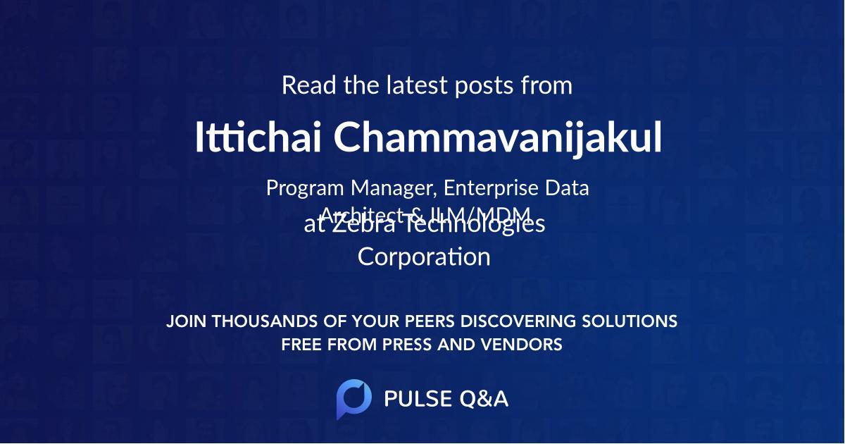 Ittichai Chammavanijakul