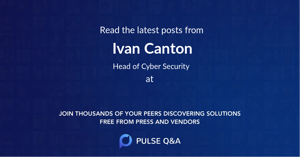 Ivan Canton