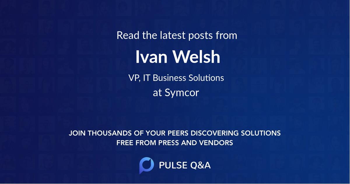 Ivan Welsh