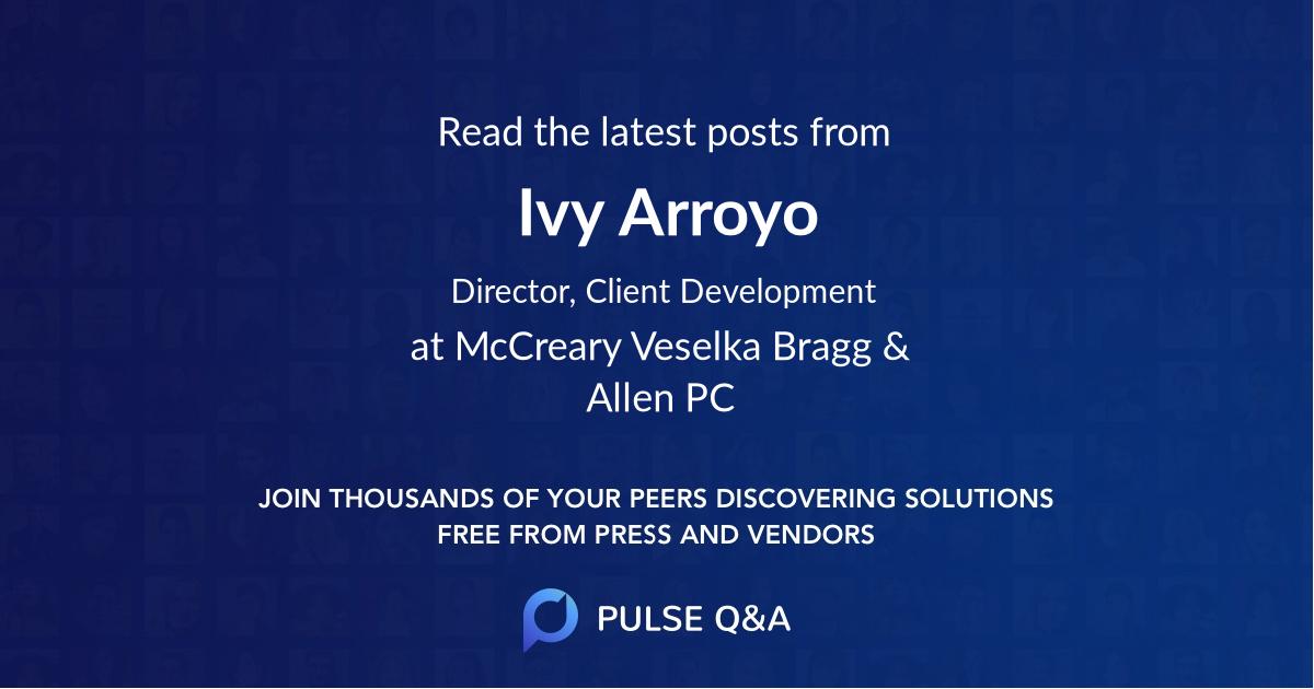 Ivy Arroyo