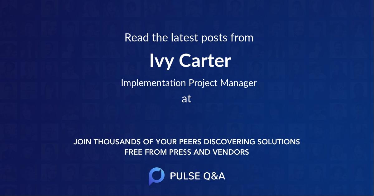 Ivy Carter