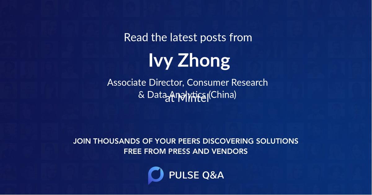 Ivy Zhong