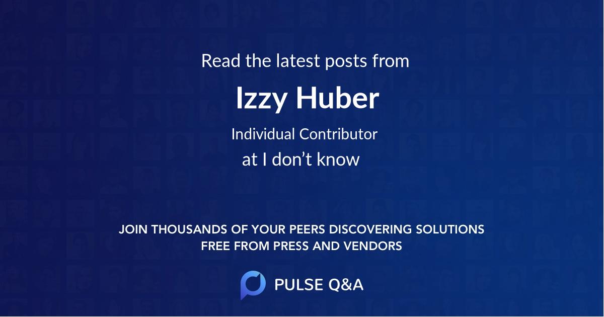 Izzy Huber