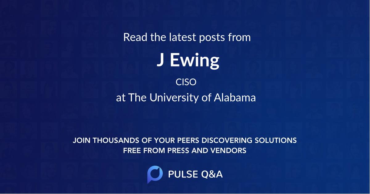 J. Ewing