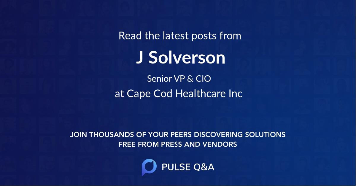 J. Solverson