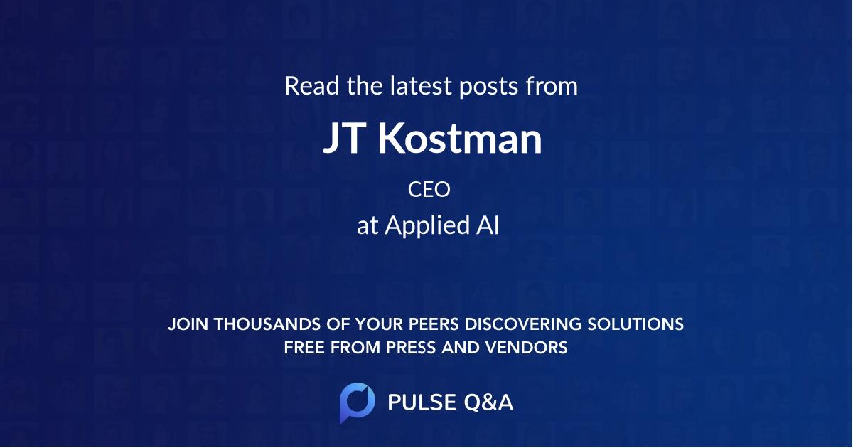 JT Kostman